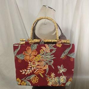 Handbags - Cute Corduroy bamboo Island 🏝️ Purse